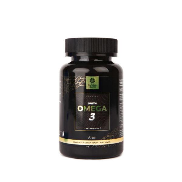 Natural Health™ Омега 3 с витамином Е