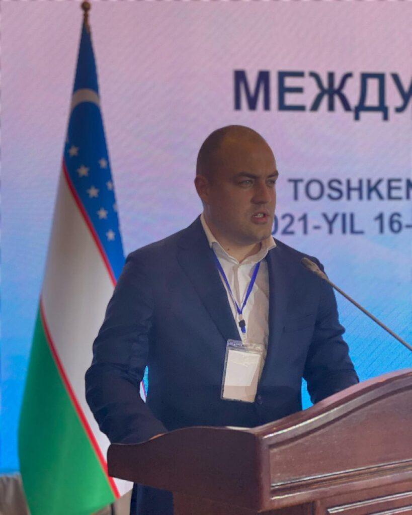 Презентовали нашу продукцию заместителю Премьер-министра Республики Узбекистан